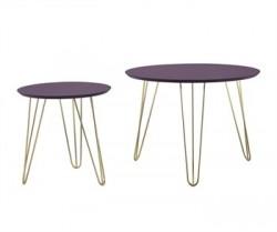 Set di tavolini viola, top,...