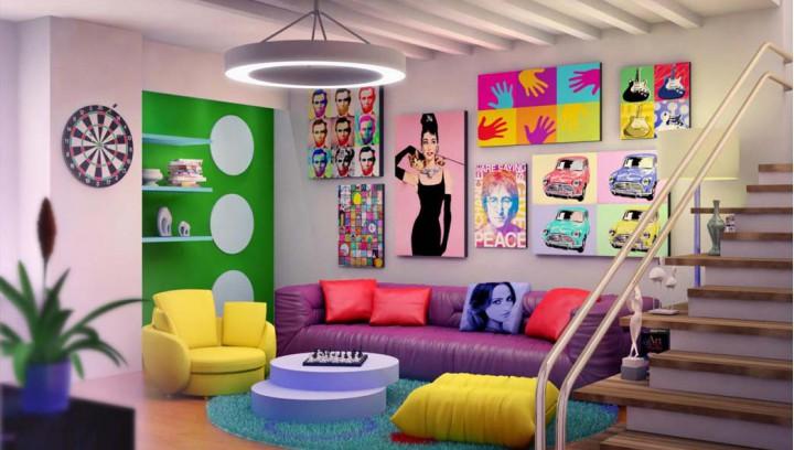 arredare la casa in stile Pop Art
